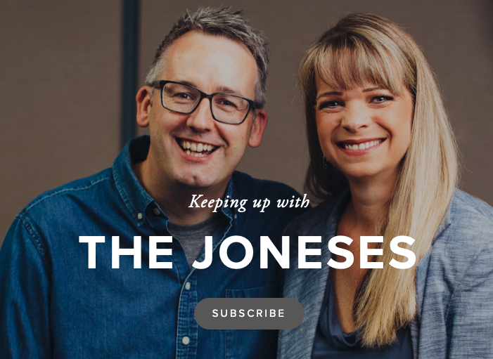 Keeping up with the Joneses Podcast picture
