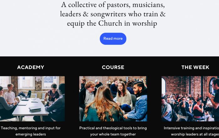theme and main topics for Worship Central